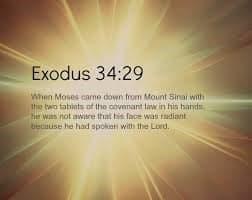 exodus 34-29