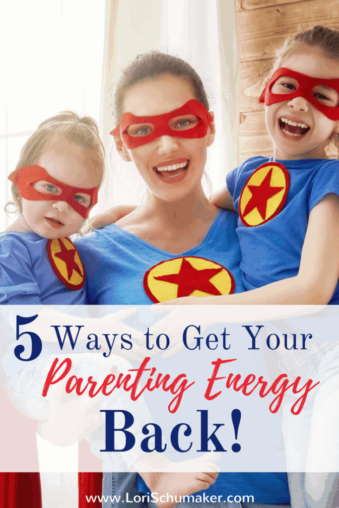 Everyday examples of ways to stop parenting on empty and get your parenting energy back. #exhaustedparent