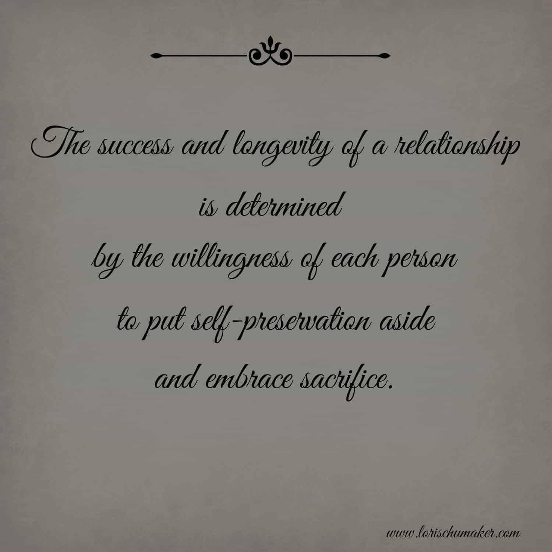 The Sacrifice of Love