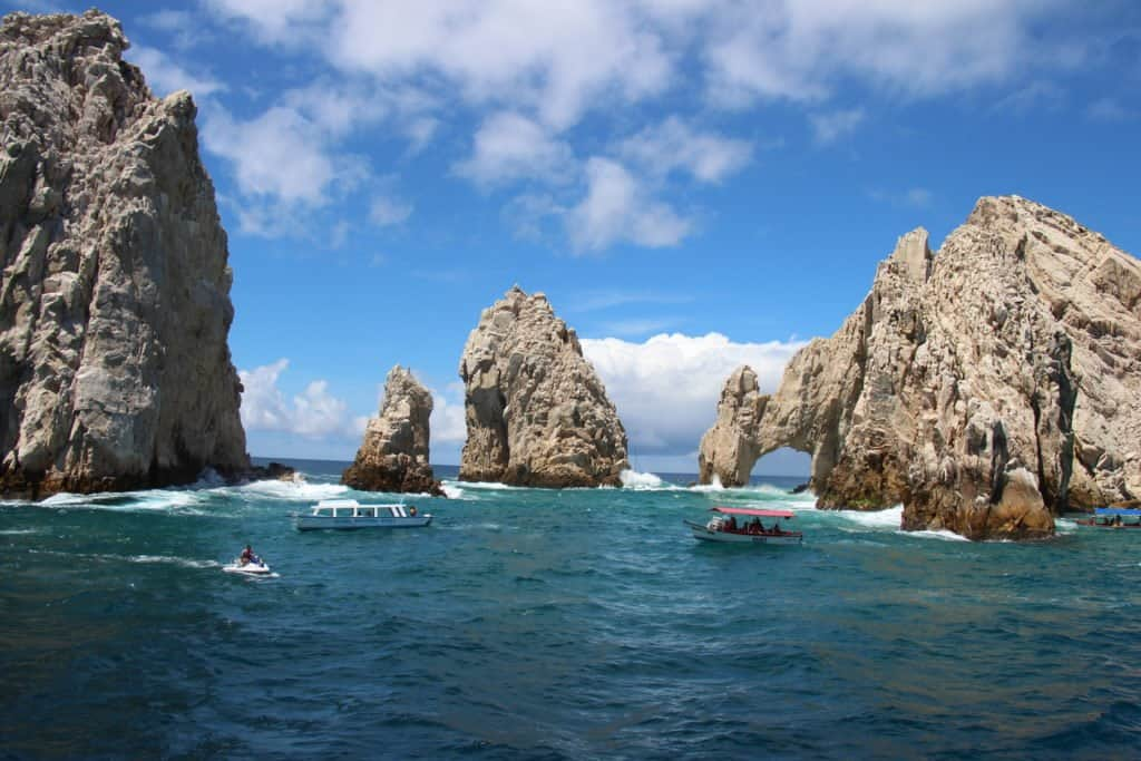 www.lorischumaker.com The beautiful view of Cabo San Lucas - El Arco