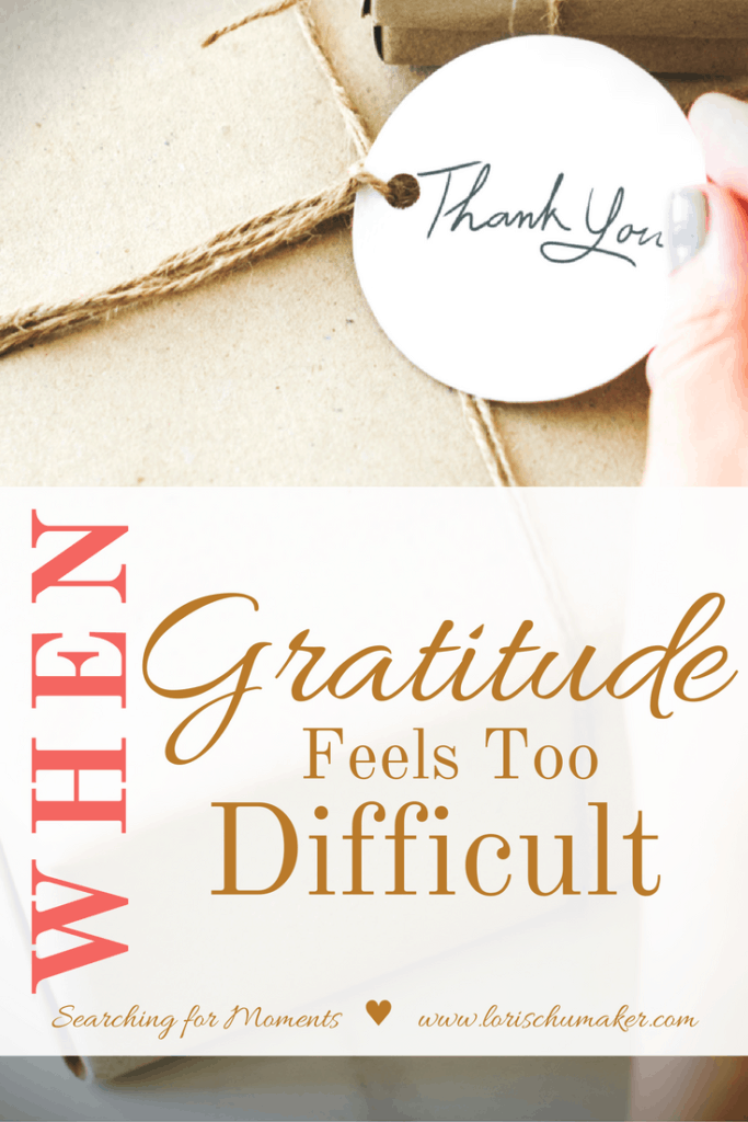 Sometimes being grateful is the last thing we want to do.The unfair waves of life have felt too much and we'd rather be angry. But, friends, gratitude is a weapon that protects your soul and preserves your hope. So, what do we do when gratitude feels difficult? by Lori Schumaker for Her View From Home