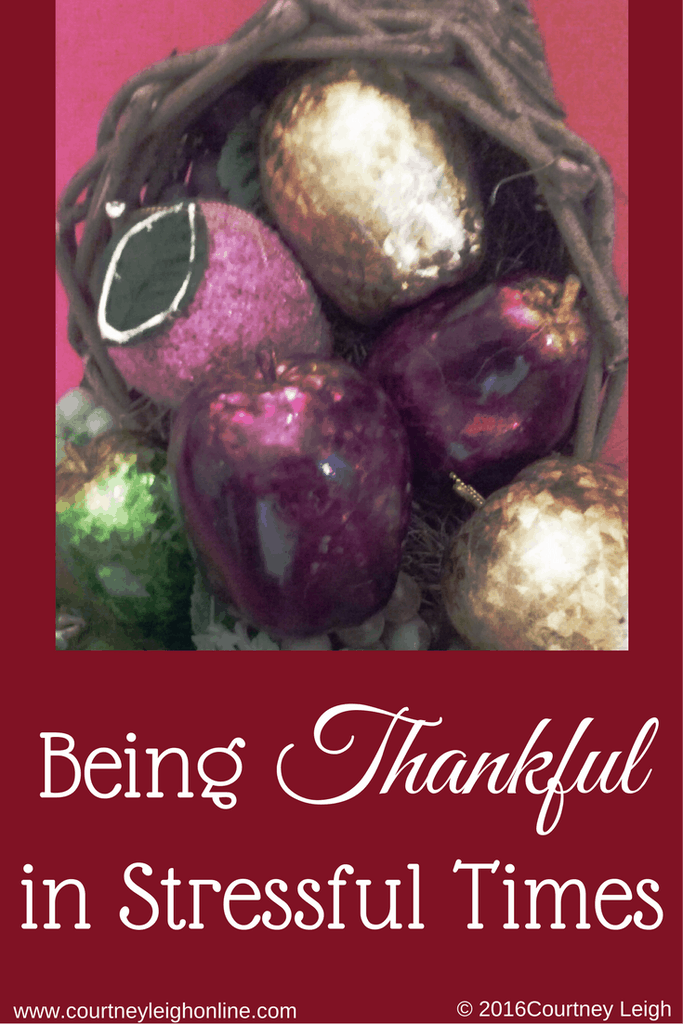 Being Thankful in Stressful Times -#MomentsofHope feature post - to-do list
