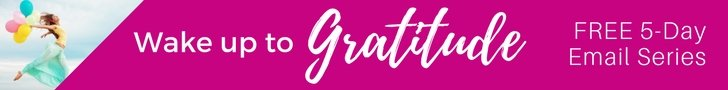 Who Could Use a Little Bit of Gratitude? Let's ditch the grumpiness and overwhelm and trade it for something better. Join us for a 5-Day Email Series #wakeupgratitude #gratitude #joy #hope