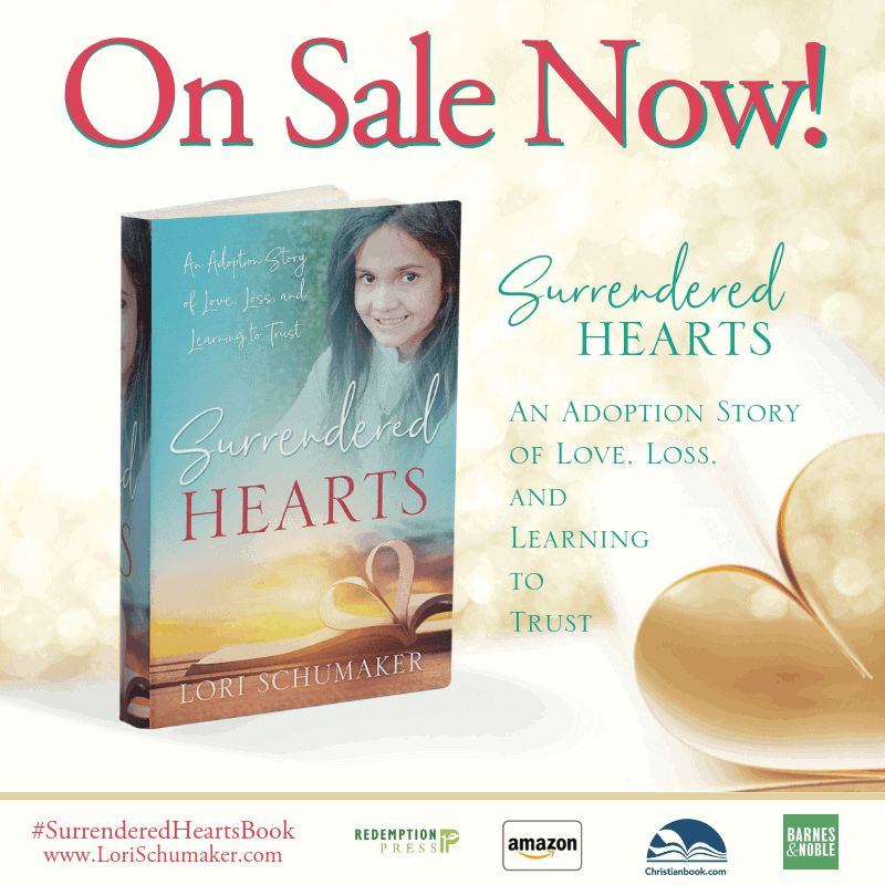The Surrendered Hearts Book Releases Today! {#MomentsofHope Link-Up}
