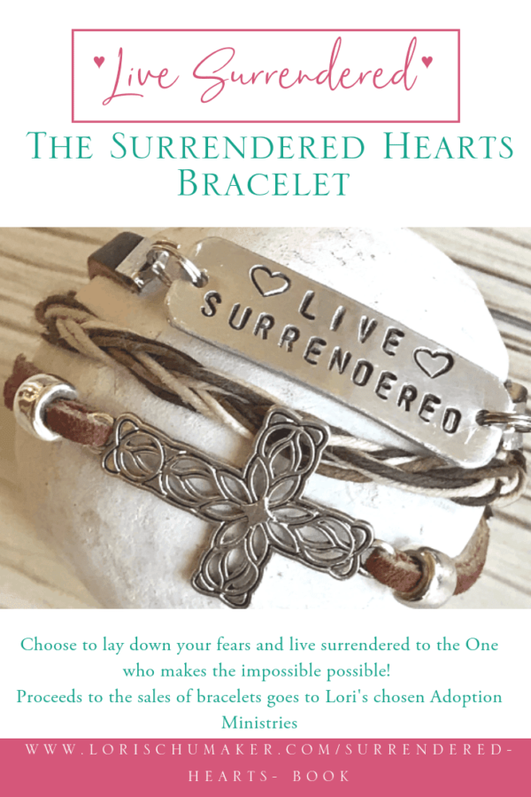 Lori Schumaker: Surrendered Hearts Bracelet