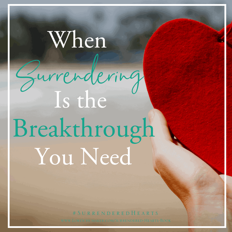 When Surrendering Is the Breakthrough We Need {#MomentsofHope Link-Up}