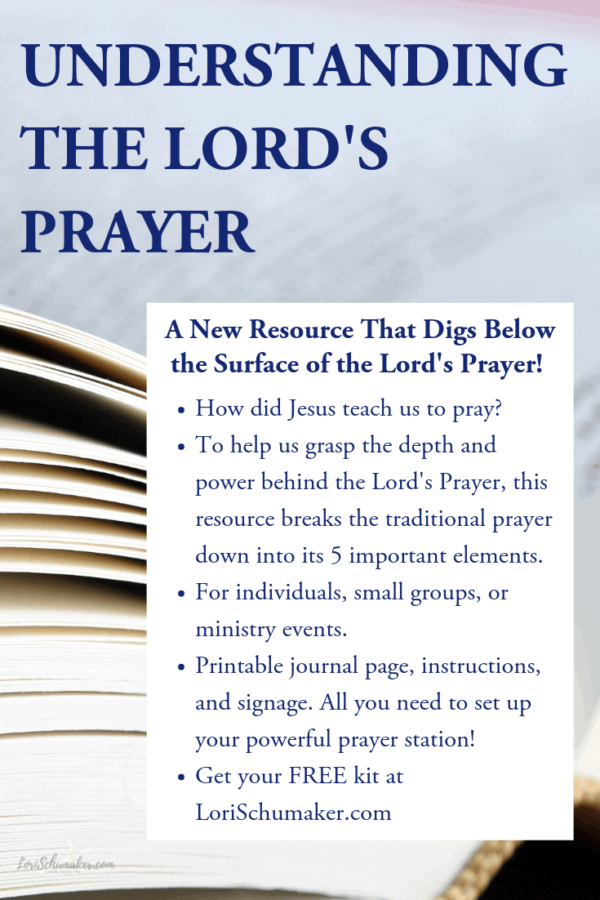 graphic relating to Prayer Printable named The Lords Prayer This means Generated Uncomplicated! A Clean, Basic, No cost