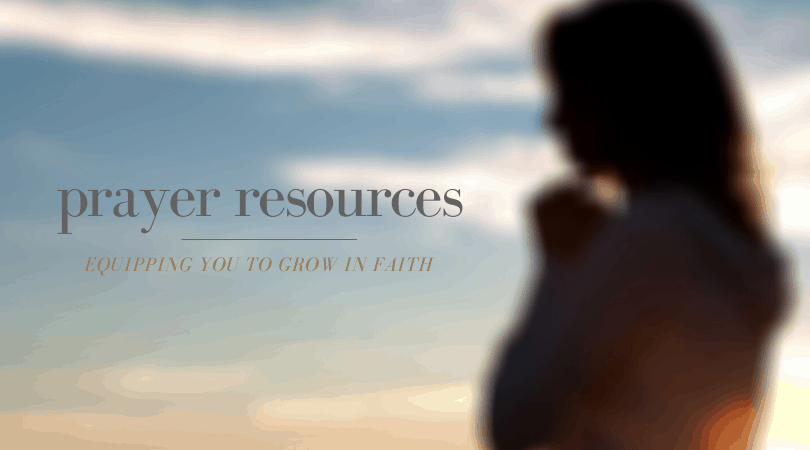 Prayer resources at LoriSchumaker.com
